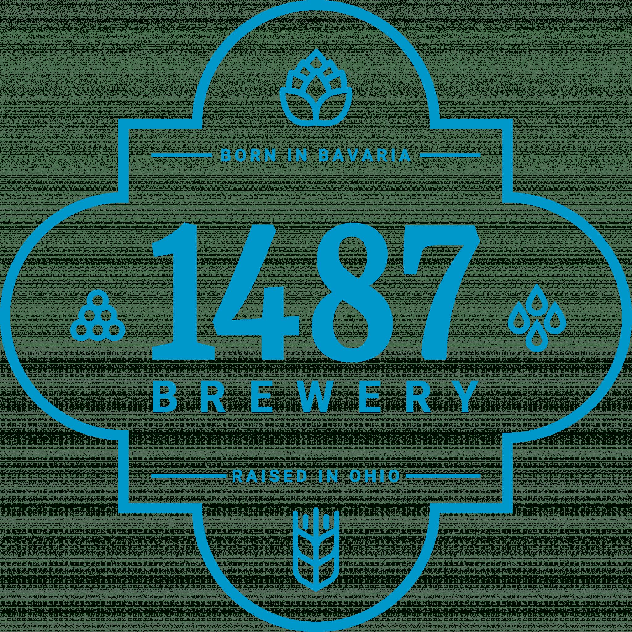 1487 Quatrefoil blue logo