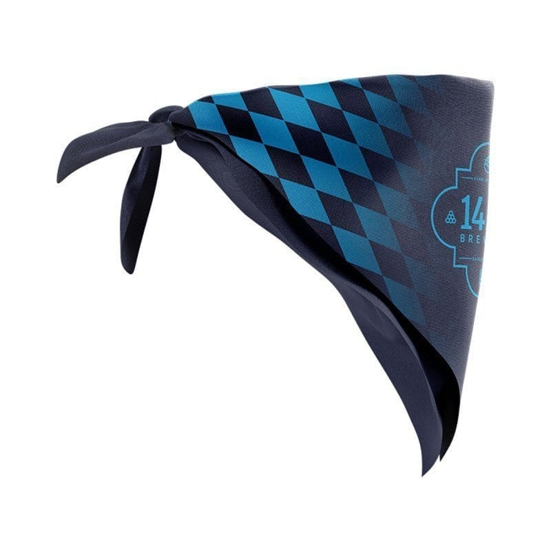 Navy Blue Bandana 1487 Brewery