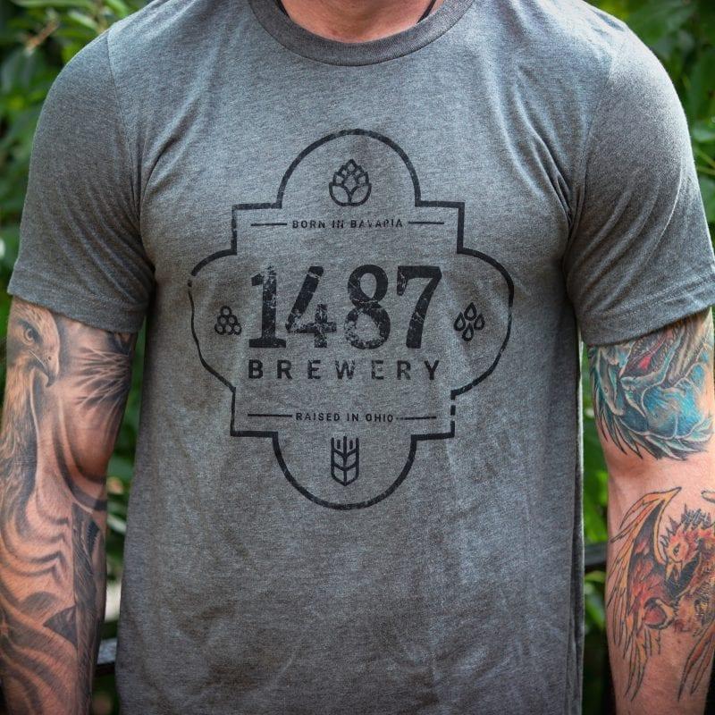 Vintage Tee Shirt 1487 Brewery
