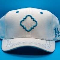 1487 Brewery White Cotton Hat