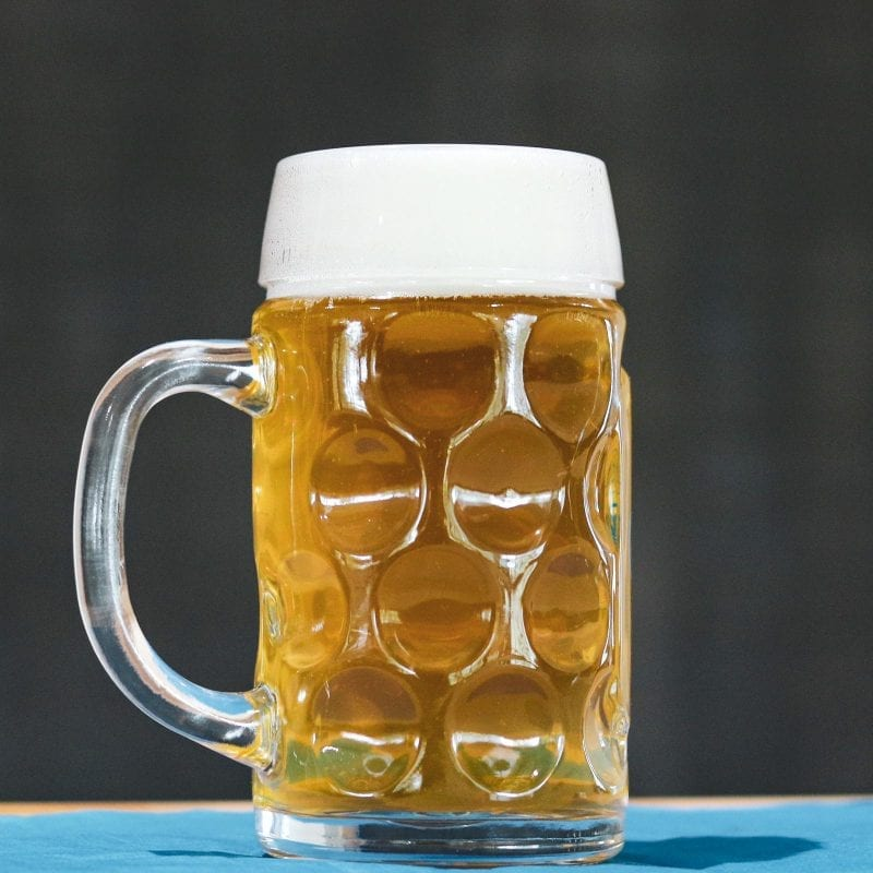 German Oktoberfest Mug - 1-liter or 1/2-litre Glass 1487 Brewery