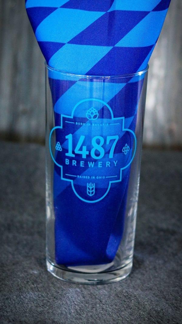 Kolsch Glass 1487 Brewery