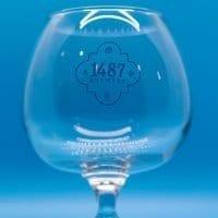 High ABV Snifter Glass 1487 Brewery