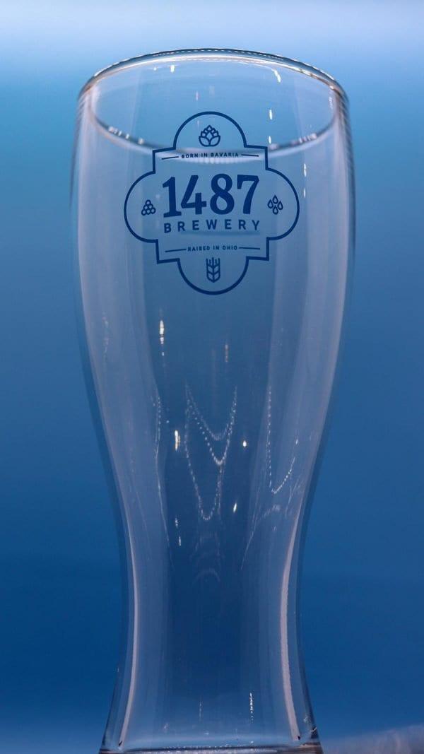 Weizen Glass 1487 Brewery