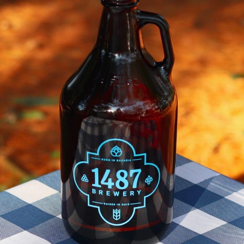 1487 Brewery Growler - 64oz