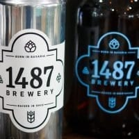 1487 Brewery Crowler (32oz) and Growler (64oz)