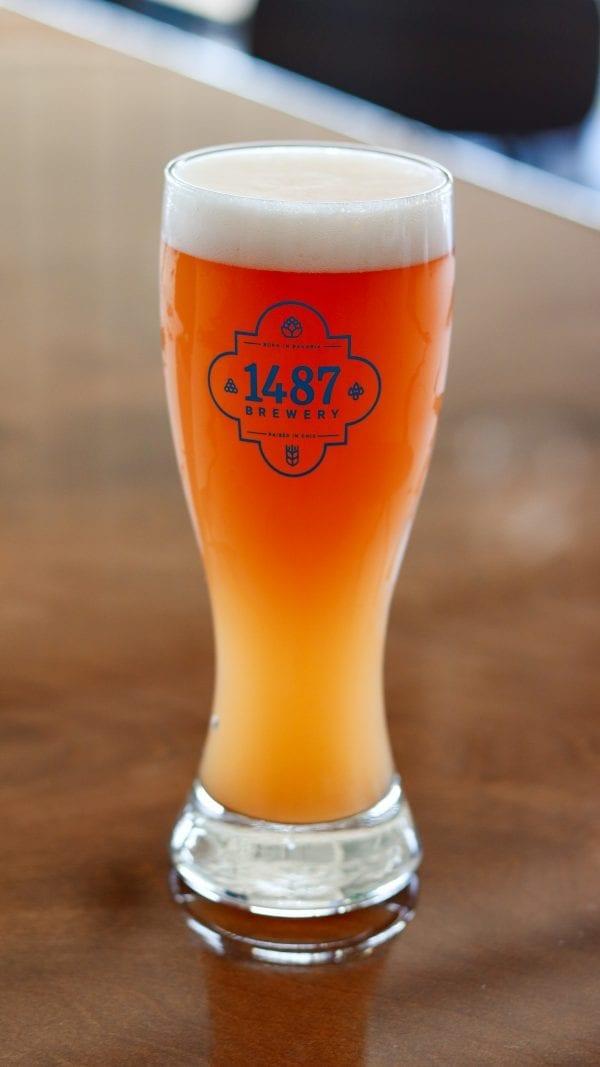Raspberry Weiss - 1487 Brewery