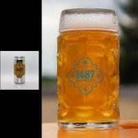 1487 Brewery Kolsch 32oz Crowler