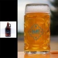 1487 Brewery Kolsch 64oz Growler