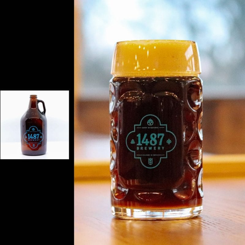1487 Brewery Altbier 64oz Growler