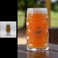 1487 Brewery Blood Orange IPA 32oz Crowler