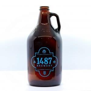 1487 Brewery Growler