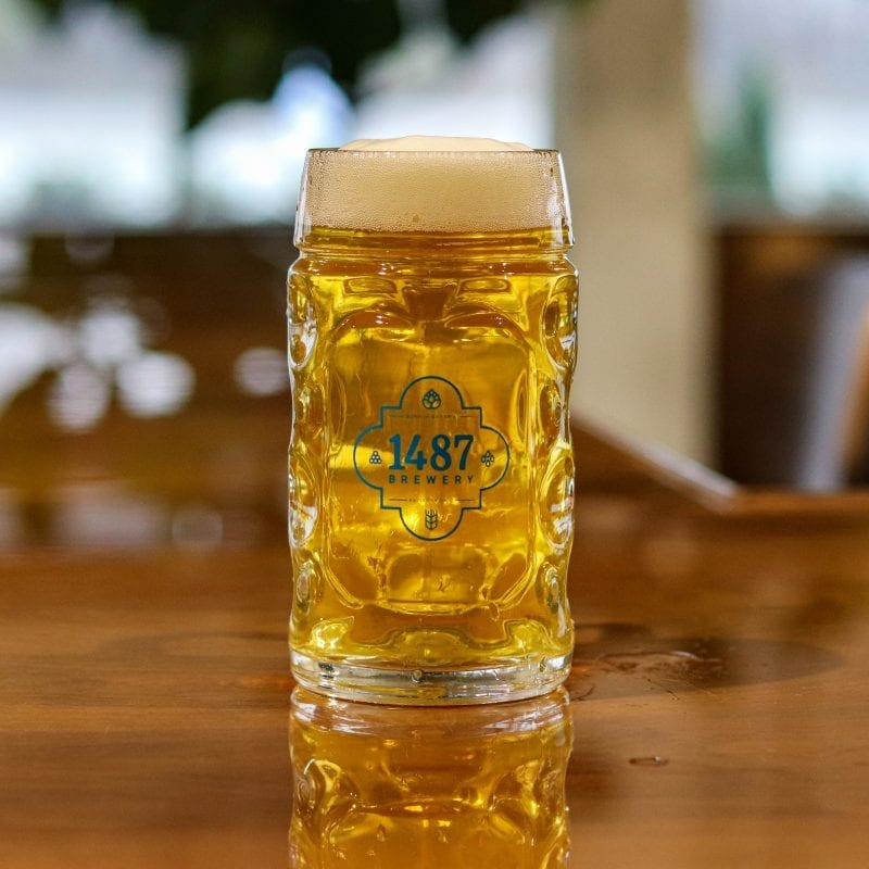 1487 Brewery Helles Lager